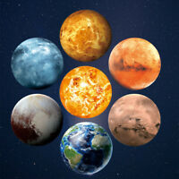 30cm 3D Planet Fluorescent Wall Sticker Removable Glow In The Dark Sticker Hot R