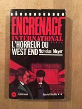 Sherlock Holmes - L'horreur du West End - Nicholas Meyer - BE