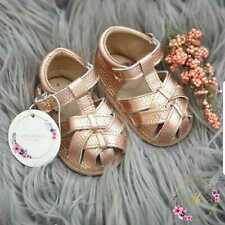 Baby Girls Leather Sandals Baby Shoes Prewalkers