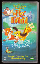 Disney The Fox And The Hound VHS