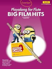 Guest Spot Big Film Hits Playalong Flute Play Coldplay Music Book Télécharger Carte