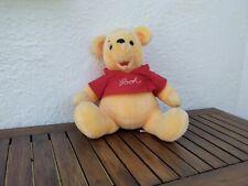 "Winnie The Pooh Plush Soft Toy 12"" Official Euro Disney VGC"