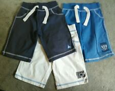 mothercare boys 3 pairs of summer soft shorts 2-3 years