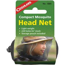 Coghlan's Compacto Mosquito Net Head ligero, con bolsa de almacenamiento de malla, 220 agujeros