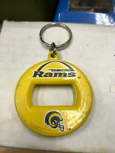 VINTAGE 1990's St. Louis Rams OLD COLORS Bottle Opener/Keychain, VERY COOL!!