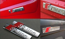 2x S-Line Car Body Decals Badge Emblem Sticker Badge Emblem Decals Hood AUDI YG