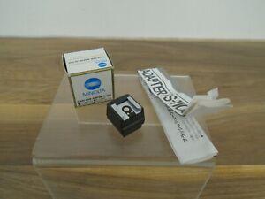 Minolta FS-1100 Flash Shoe Adapter Instructions Original Box Untested