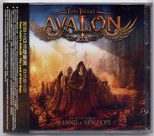 Timo Tolkki's Avalon: The Land of new hope (2013) CD OBI TAIWAN