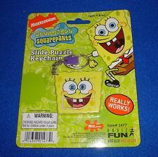 Spongebob Squarepants Slide Puzzle Keychain by Basic Fun MOC