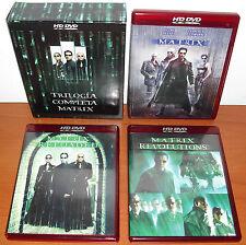 Trilogía Completa Matrix HD-DVD 1080p (NO Blu-Ray, NO DVD) Ver. Esp ¡CASTELLANO!