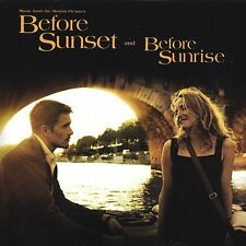 Original Soundtrack - Before Sunset / Before Sunrise CD, Aus Seller, Free Post