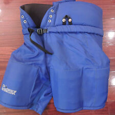 CONTAK Padded Blue Hockey Pants New Youth Size 160 Made In Canada