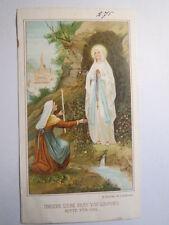 Unsere Liebe Frau von Lourdes - Fürbitte / Andachtsbild Heiligenbild