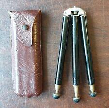 OLD BILORA D.R.P. DRGM Old Vintage Brass Camera Tripod MINI Portable Pocket Size