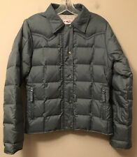 Roper Down Puffer Jacket Coat  S  Gray  MINT!