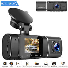 TOGUARD Dashcam Autocam Dual FHD 1080P IR Nachtsicht Auto Parking Monitor Camera