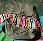 IMPORTED ESPRIT TAN BROWN BACKPACK BAG small