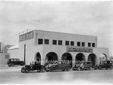 Photo. 1930s. Boulder City, Nevada. Movie Theater, Autos