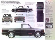 1991 1992 GMC Syclone Cyclone Turbo V6 283 hp IMP Info/Specs/photo 11x8