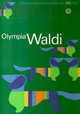 """Olympische Spiele 1972 München Motiv """"MASKOTTCHEN WALDI"""" DIN A1 Otl Aicher"""