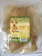 Antos Beef Ears / Cow Ears 10pcs/Pack ~ Premium Quality Dog Chews ~ 100% Natural
