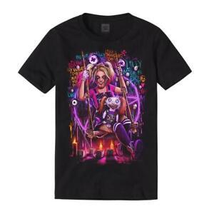 """WWE Alexa Bliss """"Lilly Made Me Do It"""" T-Shirt *NEU* Official Shirt"""