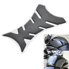 Carbon Fiber Motorcycle Tank Decal Sticker Protector For BMW KTM Buell Can-Am