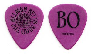 Allman Betts Band Berry Duane Oakley Signature Purple Guitar Pick - 2020 Tour