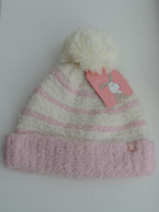 JOULES Baby Girls Pomme Warm Hat 0-6 months BNWT