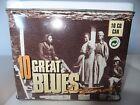 RARE COFFRET 10 CD GREAT BLUES / METAL BOX /
