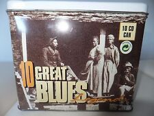 RARE COFFRET 10 CD GREAT BLUES /  METAL BOX /