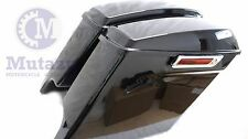 "Mutazu Stretched 4.5"" Extended Bags for Harley Touring Saddlebags 2014 2015 2016"