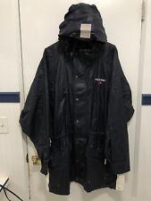 Rare Vintage Polo Sport Ralph Lauren Rain Coat Trench Coat Sz XL Long Coat