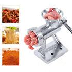 Multifunction Meat Grinder Mincer Stuffer Manual Sausage Filler Sauce Machine photo
