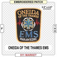 Rama  Tribal EMS Paramedic Patch EMT EMR Native Indian Band F 100