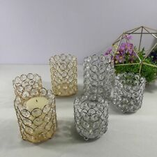 Table Wedding Centerpiece Candle Holders Home Decoration Cylinder Candle Jar New