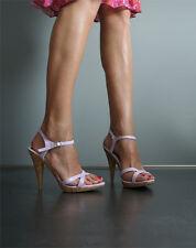 Sandalette High Heel Stiletto Mules Purple lila 38 NEU