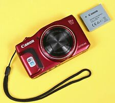 ** NO CHARGER ** Canon PowerShot SX710 20.3MP Digital Camera - Red