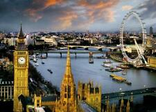 More details for london reichold : the thames - giant poster 140cm x 100cm new and sealed
