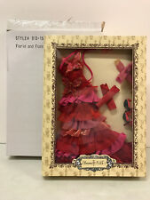 Tonner Ellowyne 'Florid and Fussy' outfit only red layers ruffles New