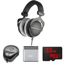 BeyerDynamic Headphones - 80 ohms DT 770-PRO w/ FiiO A1 Amp. Bundle