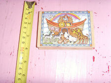 GUC Hero Arts Framed Noah's Ark 1996 craft stamp animals Religious country
