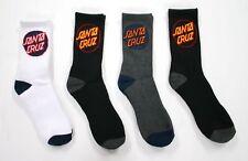 Santa Cruz Cruz Pop 4 Pack Sock Mens in Assorted