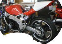 1989 & 1990  Yamaha FZR400  Performance Silencer Exhaust Deltabox Frame Motor