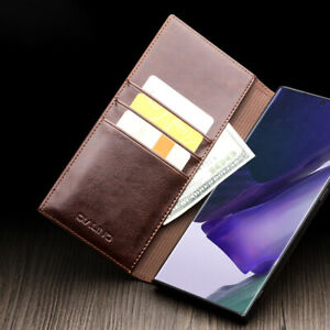 Pour iPhone 11 Max Samsung Not 20 10 S20 Ultra Etui Luxe Cuir Portefeuille Coque