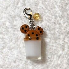 Disney Parks Charmed In The Park- Mickey Mouse Cookie And Milk Charm