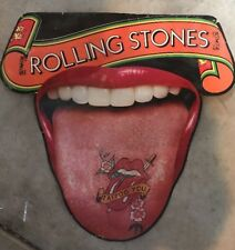 Vintage 1981 Rolling Stones Tattoo You Poster  - Very Rare - Tower Records
