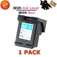 Black Ink Cartridge For HP 63XL Deskjet 1110 1112 2130 3630 3632 3634 With Box
