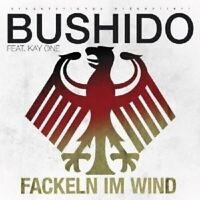 "BUSHIDO FEAT KAY ONE ""FACKELN IM WIND 2010"" CD SINGLE"