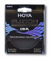HOYA FUSION 62mm CIRCULAR POLARIZER FILTER - ANTISTATIC & BONUS 16GB FLASH